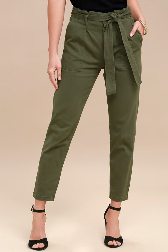 A green pair of pants fits every occasion