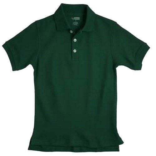 School Uniform Polo Shirt Hunter Green 8 S/s French Toast Unisex