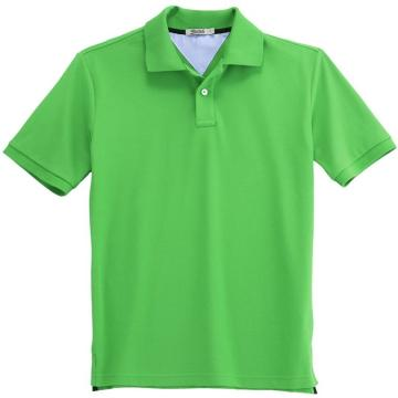 polo shirt, China Men's Plain Green Polo Shirt Manufacturer & Supplier