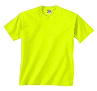Amazon.com: Safety Green T-Shirt - XXX-Large: Clothing