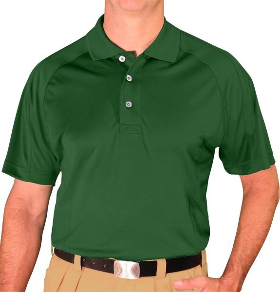 Microfiber Golf Shirts | Mens | Dark Green