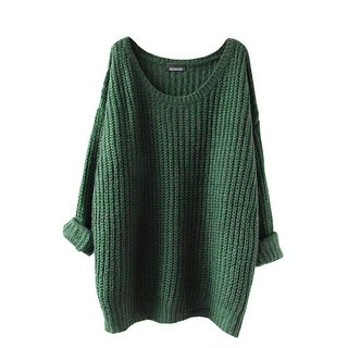 Green Women's Sweaters | Find Great Women's Clothing Deals Shopping
