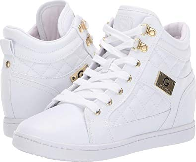 Amazon.com | G by GUESS Women's Dayna White 11 M US M | Shoes