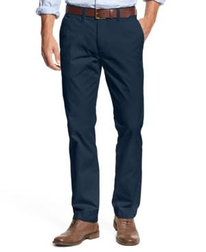 TOMMY HILFIGER MEN'S FLEX CUSTOM FIT STRETCH CHINO PANT