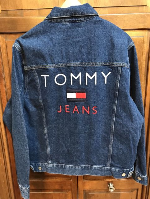 Tommy Hilfiger Tommy Jeans Capsule Collection Lined Denim Jacket Men