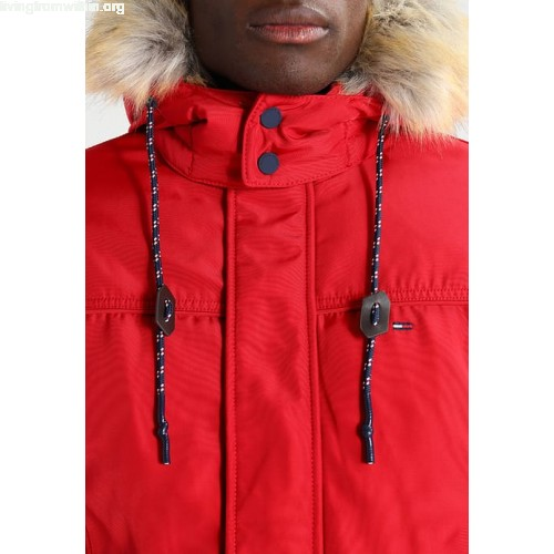 Hilfiger Denim TECH Winter jacket red yWEnOoMz