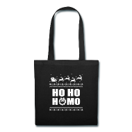 Proud To Be Homo | Ho Ho Homo Christmas LGBT - Tote Bag
