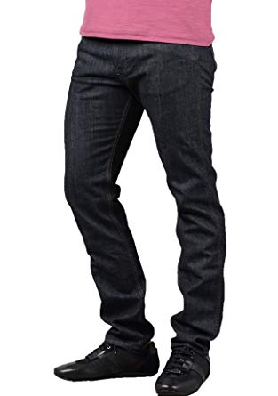Amazon.com: HUGO BOSS Boss Delaware Jean in Dark Blue Denim: Clothing