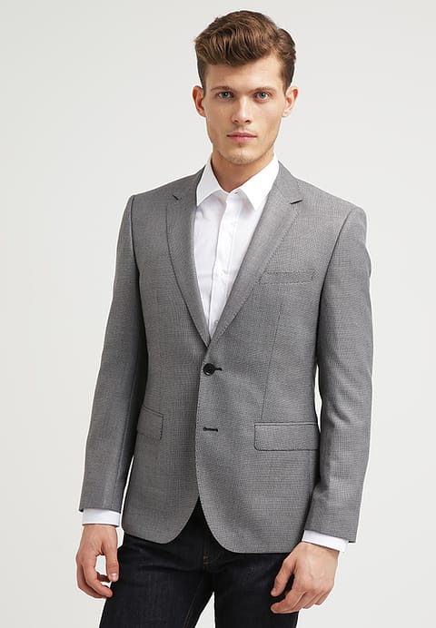 hugo boss Billig mantel maluba, HUGO JEYS - Sakko dark grey Herren