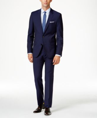 Hugo Boss HUGO Men's Blue Extra Slim-Fit Suit Separates & Reviews