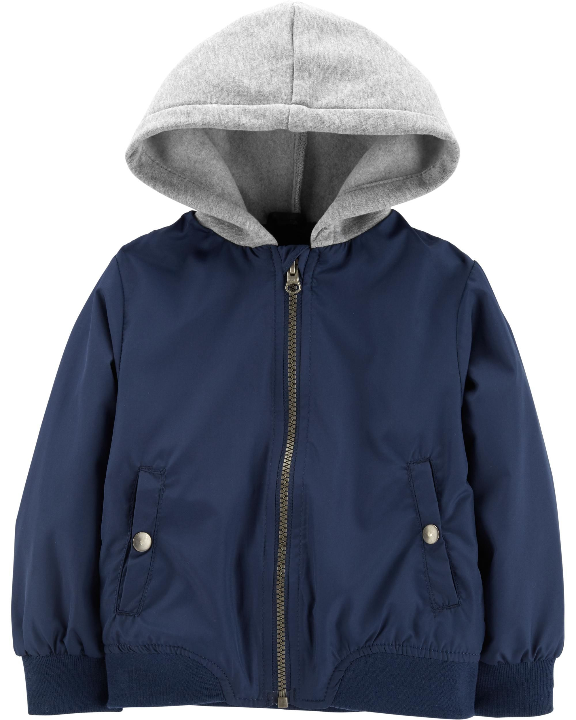 Hooded Bomber Jacket | Carters.com