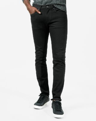 Skinny Black 365 Comfort 4 Way Stretch Jeans | Express