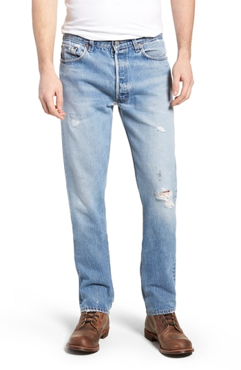 Men's Levi'S Authorized Vintage 501(TM) Tapered Slim Fit Jeans, Size