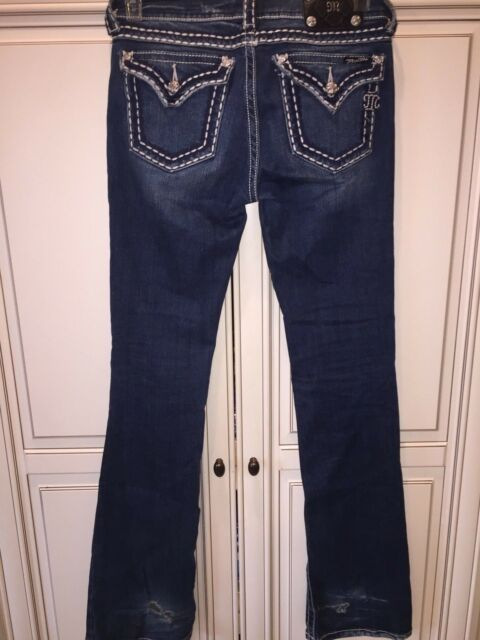 Miss Me Boot Cut Jeans Women's Size 27 Inseam 34 for sale online | eBay