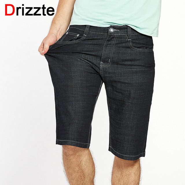 Drizzte Men Plus Size 40 42 44 46 48 50 52 Stretch Denim Large Big