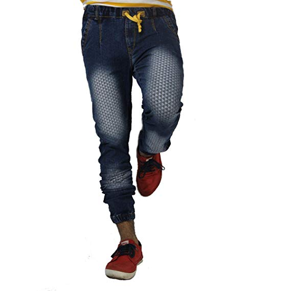 Won.99 Men's joker Slim Fit Jeans (psoo221_Light Blue_34): Amazon.in