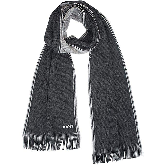 Joop! Men's Scarf - Black - One Size: Clothing