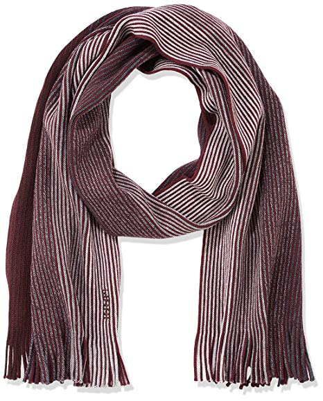 JOOP! Men's 17 JSC-Radik 10004295 Scarf, (Dark Purple 501), One Size