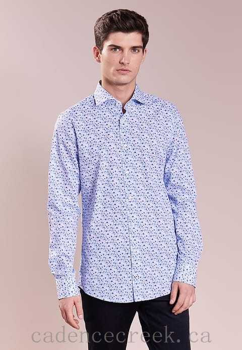 Men 100% Cheapest PANKO - Shirt Blue 100% cotton 285514 - JOOP