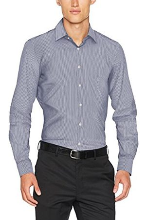 JOOP Men's 17 Jsh-37Pierre2 10003763 Business Shirt Blue Men's