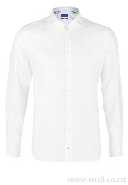 Buy JOOP! Men's L-PANKO SLIM FIT Formal shirt white at Wrdl.co.nz