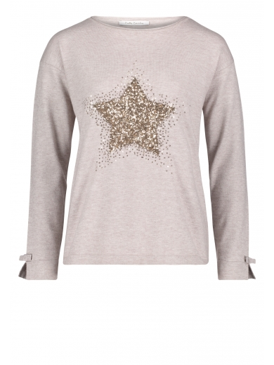 Knit jumper With sequins - Betty Barclay - 12999665