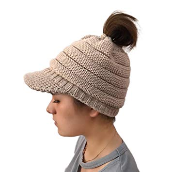 Amazon.com : Women Casual Hip-hop Cap, Sinohomie Knitted Hats
