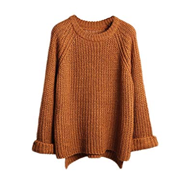 Lisli Women's Batwing Sleeve Loose Oversized Pullover Knitted