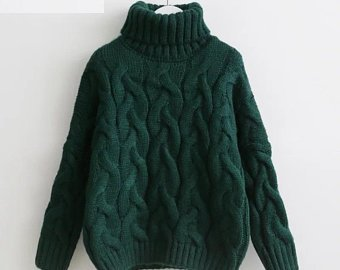 Knitted sweater | Etsy