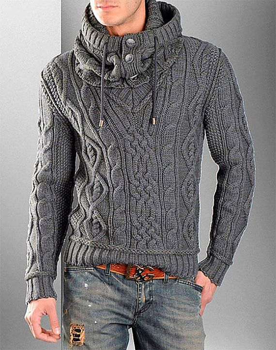 Pin by Alexander Wooledge on Fashion | Hand knitted sweaters, Mens