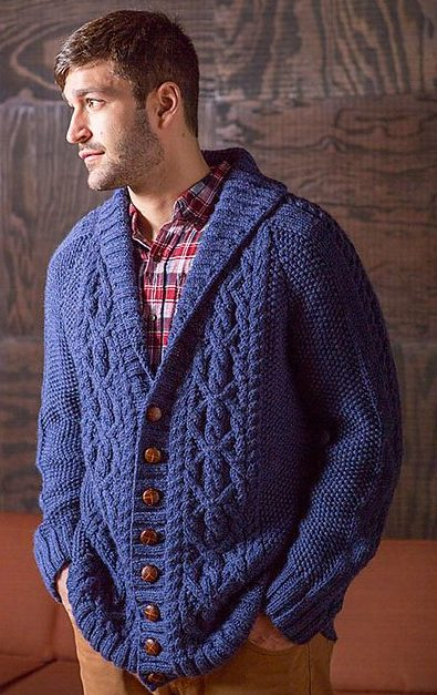 Men's Sweater Knitting Patterns - In the Loop Knitting