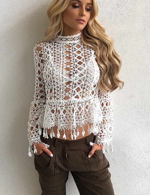 Bohemian Style Lace Top