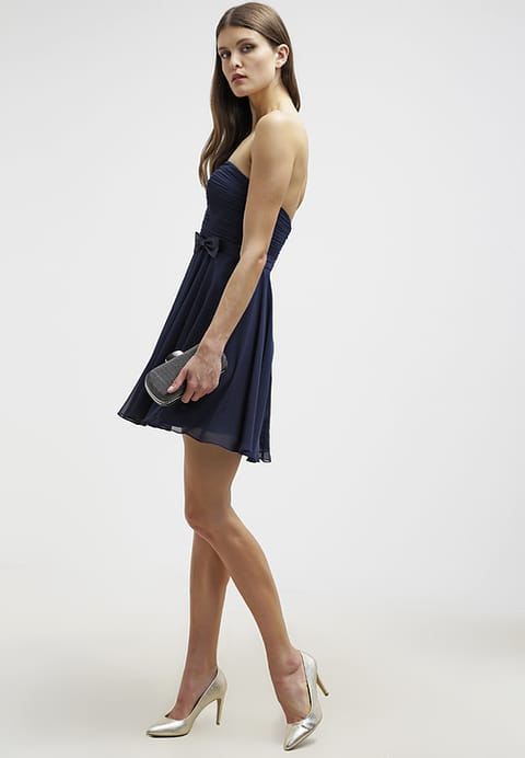Womens Blue The Laona Cocktail Dress Party Dress Stormy Classic-Vouge