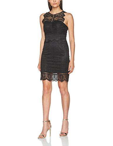 Laona Damen Kleid Cocktail Dress Schwarz (Jet Black 149) 42