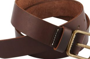 Amber Pioneer Leather Belt 96502 | Red Wing Heritage