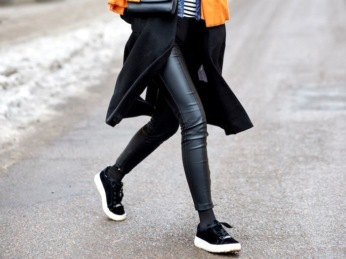 The 20 Best Faux-Leather Leggings of the Season | Who What Wear