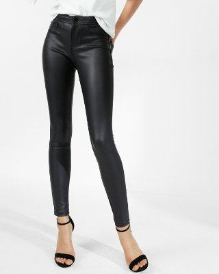 Faux Leather Leggings | Express