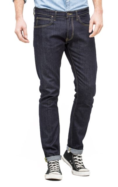 Buy Lee Slim Tapered Luke Jeans Urban Dark Denim Rigid Wash Waist 34