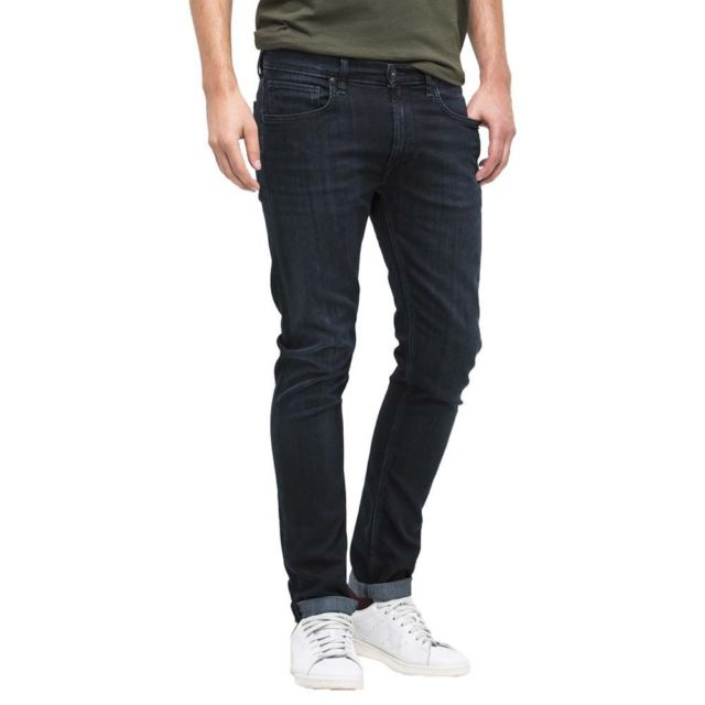 Mens Lee Luke Tapering Jeans Dark Indigo W31 30l Cs074 03 D | eBay