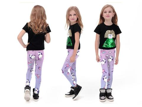 Kids | Online Legging Store leggings,galaxy,black,bones,pink