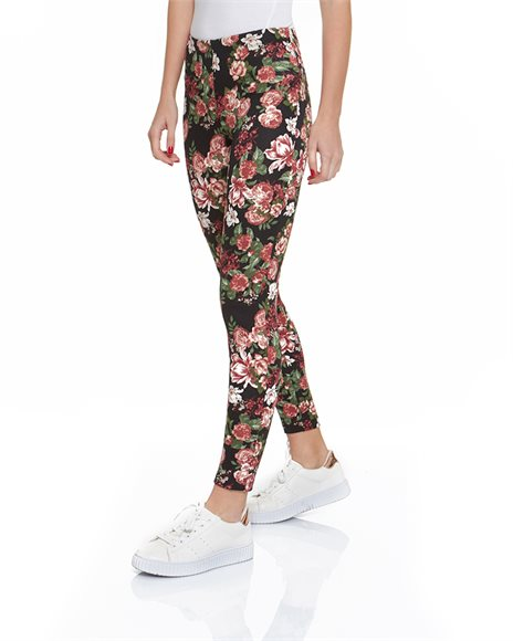 Leggings with pattern   Pink Woman