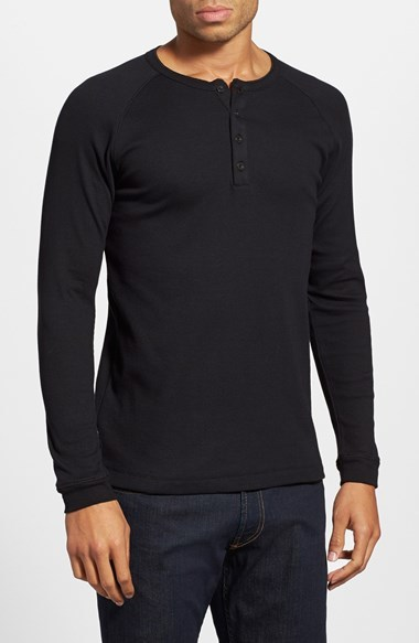 Levi's Leviu0027s 300 Series Long Sleeve Henley, $36 | Nordstrom