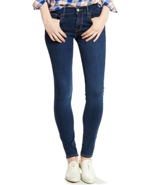 Levi's Womens 710 Super SKINNY Jeans - Head West | eBay