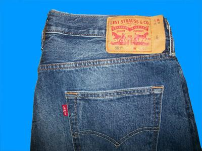 Name Brand Jeans™ - Levis 501 Buttonfly 40 W x 36 L