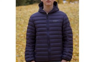 Ultra Light Down Jacket Unisex Navy