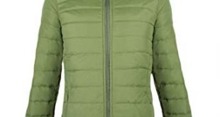 Amazon.com: SUNDAY ROSE Packable Puffer Jacket Women Slim Fit