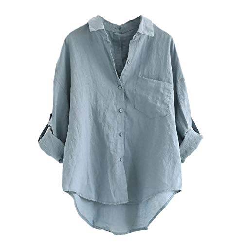 Women's Linen Blouses: Amazon.com