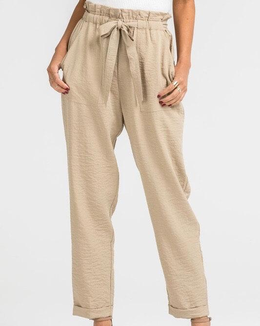 Linen pants of high quality