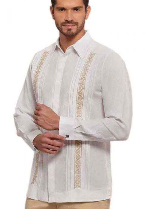 Formal Design Shirt for Men. Exclusive Embroidery. Presidents Shirt