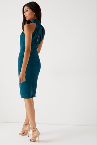 Buy Lipsy Halterneck Cocktail Dress from the Next UK online shop